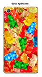 Coque Sony Xperia M5 design Bonbons nounours multicolores