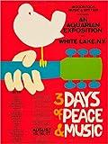 Poster 50 x 70 cm: Woodstock Festival von Entertainment
