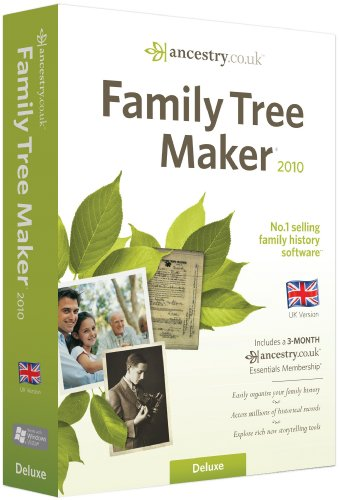 Family Tree Maker 2010 Deluxe Edition (PC CD) [Import]