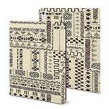 Étui pour iPad 2020 Air 4 (11 pouces), tissu traditionnel ethnique africain avec porte-crayon,...