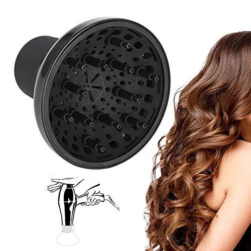 Haartrockner Gebläse Diffusor, Universal Haartrockner Zubehör anpassbare lockiges oder welliges Haar für Friseursalon Fön