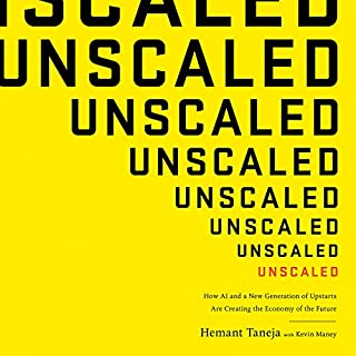 Unscaled audiobook cover art