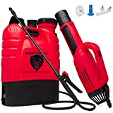 Magnum Slayer 2.0 - Professional Cordless Backpack True Electrostatic Sprayer Fogger Mister Atomizer for Disinfecting, Sanitizing, Decontamination, Pest Control & Gardening-AirGun and Spray Wand Incl.