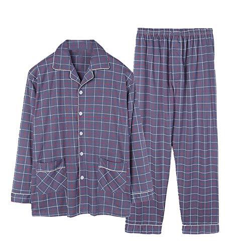 conjuntos de pijama para hombre ropa de dormir otoño invierno hombres pijamas conjuntos