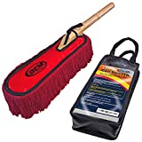 Best Car Dusters - Classic Car Duster with Solid Wood Handle includes Review