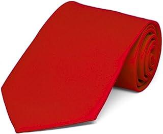 گردنبند قرمز جامد پسرانه TieMart