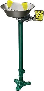 Speakman SE-584 Traditional Series Pedestal-Mounted Emergency Eyewash, Stainless Steel