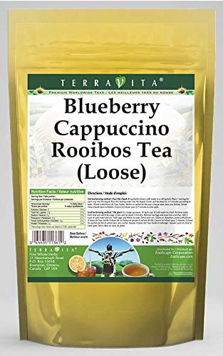Blueberry store Complete Free Shipping Cappuccino Rooibos Tea Loose 8 ZIN: 544571 oz