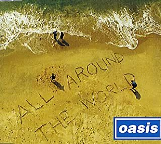 All Around the World 3 Track Cd Single (W/ Rolling Stones Street Fighting Man Cover Song)