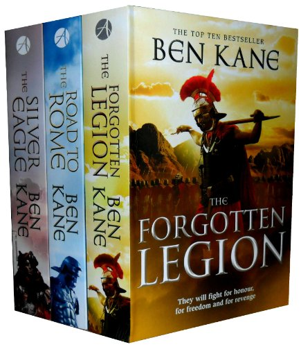 Forgotten Legion Chronicles Series Collection Ben Kane 3 Books Set NEW Paperback