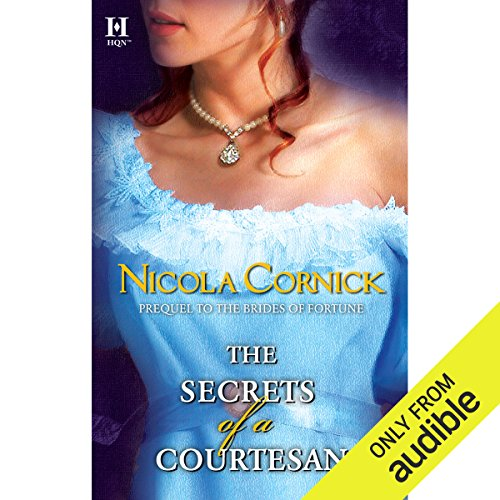 The Secrets of a Courtesan audiobook cover art
