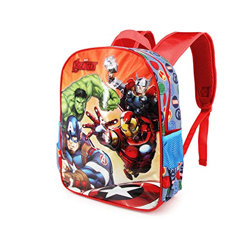 Karactermania: Avengers Multicolor Mochila Basic   Force Rucksack Escuela