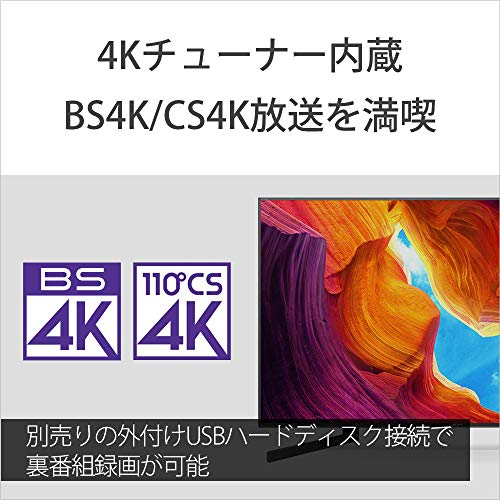 SONY(ソニー)『BRAVIA4K液晶テレビX9500Hシリーズ(KJ-75X9500H)』