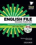 ENGLISH FILE INTERMEDIATE 3ª ED STUDENT´S BOOK