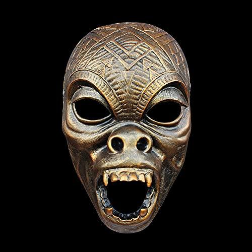 SZSBLT Máscara de Halloween Black Panther T'Challa Superhero, Casco de los Vengadores Dress Up Party Dress Up Cosplay Dress Up Boutique Máscara de Resina Pintada a Mano