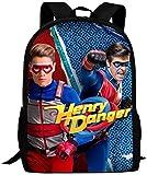 Bolsa para Laptop H-enry Dan-Ger Backpack Daypack Shoulder Bag Unisex Fashion...