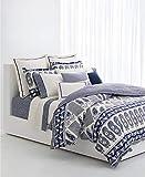 Ralph Lauren Nicola Paisley Blue Navy Queen 3-Piece Comforter Set