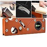 Mini Carpintero de Madera para Manualidades 45 Grados Corte y Biselado Herramienta de Bricolaje Cepillo de Carpintero Naranja