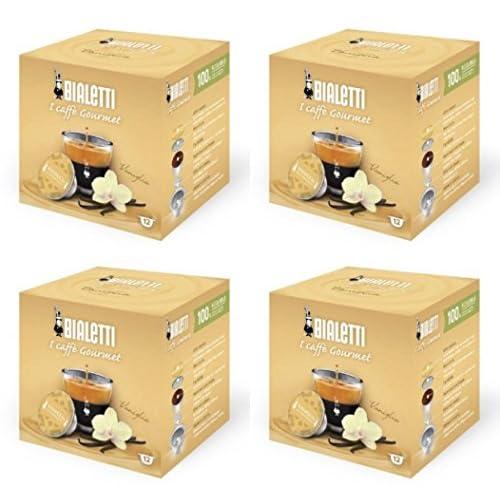Bialetti capsule caffè, vaniglia, 48count