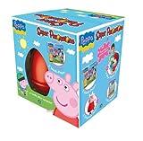 Apri e scopri tutte le sorprese di Peppa Pig! I prodotti contenuti all'interno dell'uovo sono personalizzati con i personaggi apparsi nella celebre cartone animato. Nel Super Pasqualone troverai sempre: il mega pallone gonfiabile, un DVD con contenut...