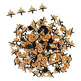 SALALIS Gotero Compensador, Fácil De Instalar Y Usar Boquilla De Riego por Goteo Duradera Materiales Plásticos Resistente A La Corrosión para Accesorios De Jardín