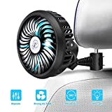 Best Car Fans - Car Fan 2200mAh Battery Powered Mini Fan Review