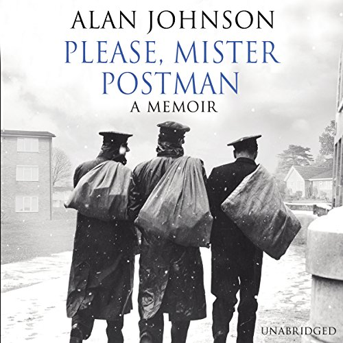 Please, Mister Postman audiobook cover art