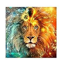 ジグソーパズル星明かりのライオン300個