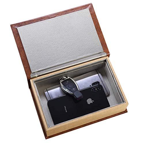 CigaMaTe Keyless Go Schutz Autoschlüssel Box, Handy Faraday Box Smartphone Signal Blocker Schlüsseltasche Auto Schlüssel Box Car Key Signal Blocker RFID Blocker Schutzhüllen Auto Blocker Anti-Hacking