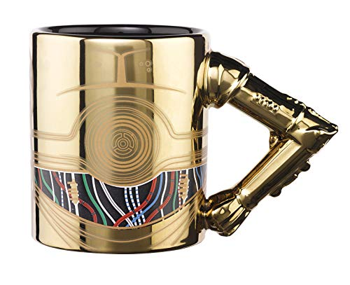 Exquisite Gaming C3PO Tasse 3D Arm
