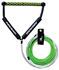 Dyneema Thermal wakeboard rope provides zero stretch for crisp instantaneous response Thermal-coated Dyneema line is stiff and rigid, resists kinking and twisting, floats and boasts a 2,000 lb. break strength 70 foot long with a 5 foot handle bridle ...