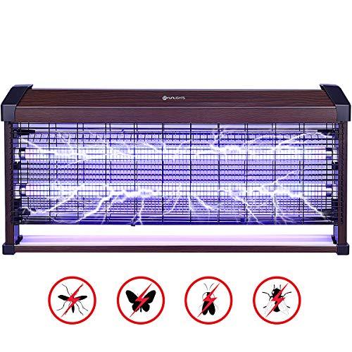 YUNLIGHTS 40W Insektenvernichter Elektrisch Mückenschutz Fliegenfalle Moskito Killer Mückenfalle Anti Mücken Insektenfalle Elektrische Insektenvernichtungslampe mit UV-Licht für drinnen und draußen