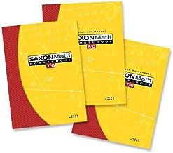 Saxon Math Homeschool: 7/6 (Saxon Math 7/6 Homeschool)