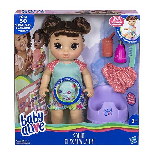 Hasbro Baby Alive–Sophie Me Pierde La PIS Lavable Mascota Perro Pipi, Marrón, e0610ic0