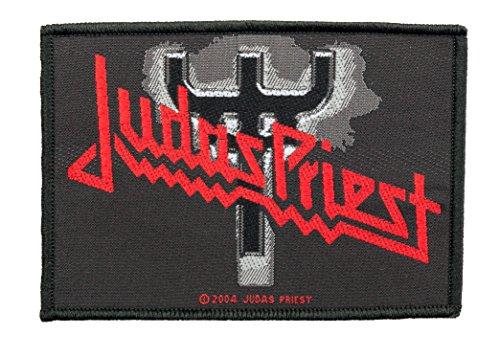 Parche de Judas Priest con logotipo de Fork