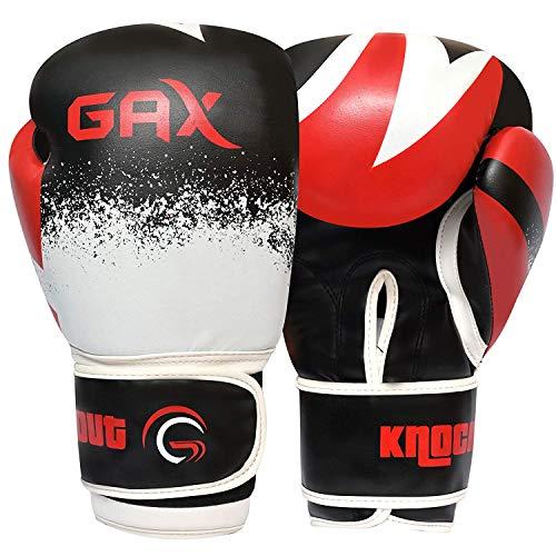 Gax Kampfsportpuppe, Boxsack – für BJJ, MMA, Muay Thai, Judo, Tritte, Boxen, Ringen, zielgenaues Schlagen, Kampfsport und Fitnesstraining, Leinenstoff-Material, rot, rot, 5 Feet (150 cms)