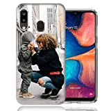 MUNDAZE Design Your Own Custom Case - Personalized Photo Image Picture Phone Case Cover for Samsung Galaxy A20 - Perfect Custom Case (A20)