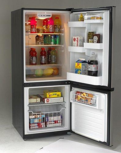 Avanti FFBM102D3S Bottom Mount Frost Free Freezer/Refrigerator