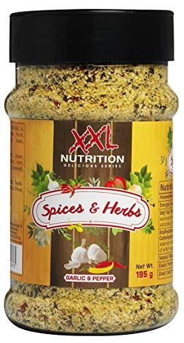 Spices & Herbs - Garlic & Pepper - 195 Gramm