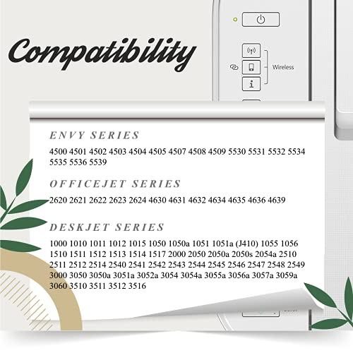 AAKIDINK 301 XL Tricolor Remanufacturados Compatibles con HP 301XL Cartuchos de tinta para hp Envy 4500 4507 5530 5534 DeskJet 1510 2544 2540 3050a 1050 1512 OfficeJet 4632 2622 Impresoras(1 Paquete)