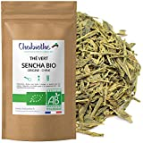 Chabiothé - Thé vert nature Sencha Bio 200g - conditionné en France - sachet biodégradable