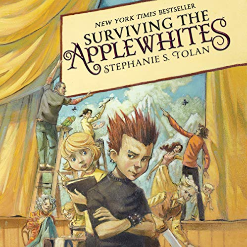 Surviving the Applewhites audiobook cover art