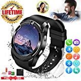Smart Watch,Smartwatch for Android Phones, Smart Watches Touchscreen with Camera Bluetooth Watch Phone with...