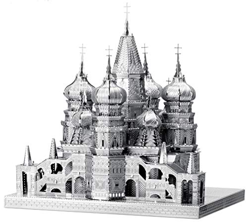 Fascinations ICONX Saint Basil's Cathedral 3D Metal Model Kit