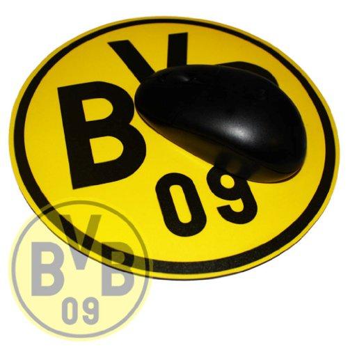 Borussia Dortmund Mousepad / Mauspad Fan Edition - Emblem BVB 09