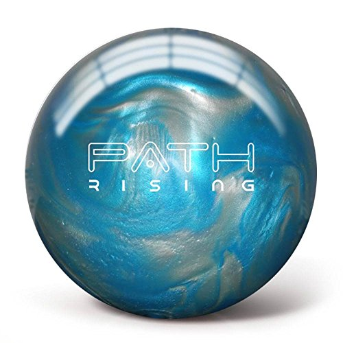 Pyramid Path Rising Bowling Ball (Aqua/Silver, 10 LB)