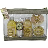 Kit Bain bilancio ambientale Mandorle Miele - 5pcs - scatola regalo, regalo per le donne