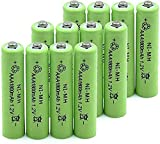 1.2 V AAA 1800mah Battery Rechargeable ed on Torch Keyboard Power Bank Batteries 12pcs