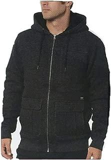 Men's Full-Zip Hooded Fleece Jacket