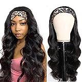 Best Brazilian Virgin Hairs - Body Wave Headband Wig Human Hair Wig Glueless Review